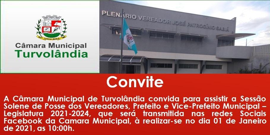 Sessão de Posse dos Vereadores, Prefeito e Vice_ Prefeita.